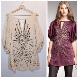 Nanette Lepore Darjeeling Silk Mini Dress